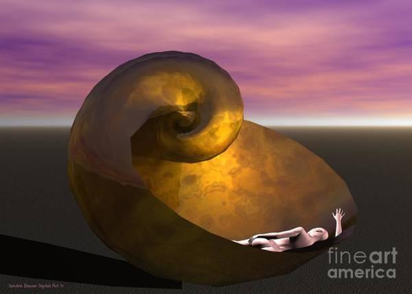 Digital Art - Washed Ashore by Sandra Bauser Digital Art