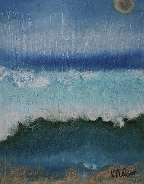 Painting - Washed Away II by Kim Nelson