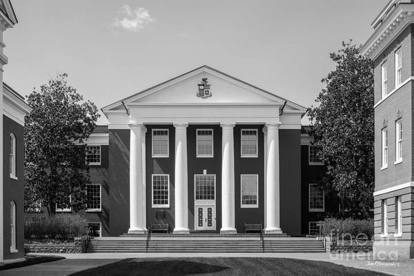 Photograph - Washington And Lee University Huntley Hall by University Icons