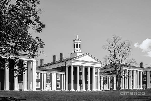 Photograph - Washington And Lee University Washington Hall by University Icons