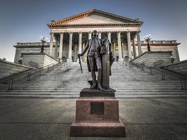 Photograph - Washington At The State House by Van Sutherland