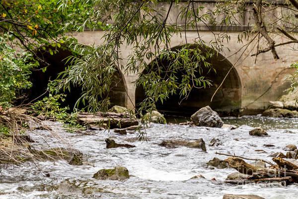 Photograph - Washington Bridge Rapids by William Norton