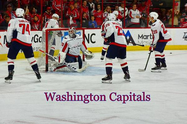 Photograph - Washington Capitals by Lisa Wooten