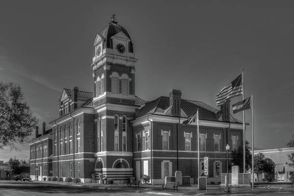 Photograph - Washington County Courthouse 2 Art by Reid Callaway