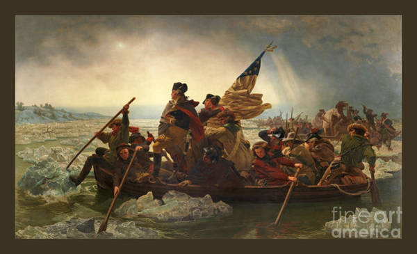 Wall Art - Photograph - Washington Crossing The Delaware by John Stephens