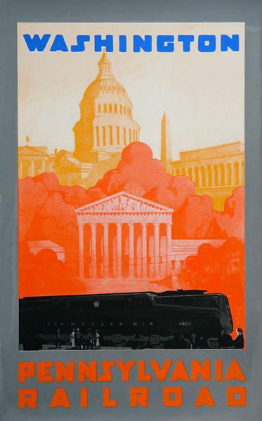 Capitol Drawing - Washington Dc IIi by David Studwell