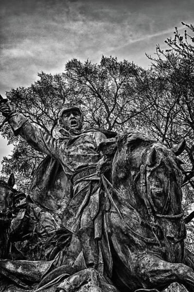 Photograph - Washington Dc Memorial Detail No 16 by Val Black Russian Tourchin