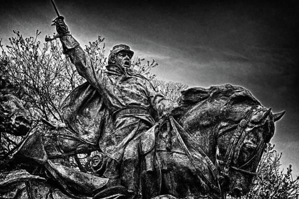 Photograph - Washington Dc Memorial Detail No 18 by Val Black Russian Tourchin