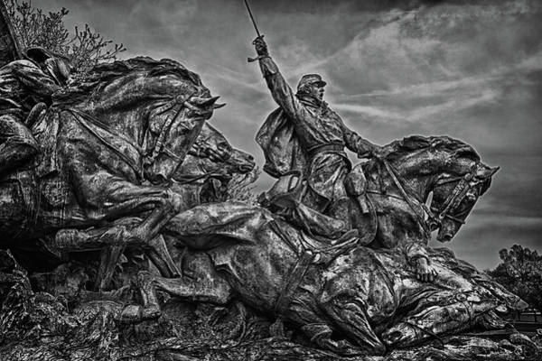 Photograph - Washington Dc Memorial Detail No 21 by Val Black Russian Tourchin