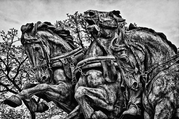 Photograph - Washington Dc Memorial Detail No 4 by Val Black Russian Tourchin