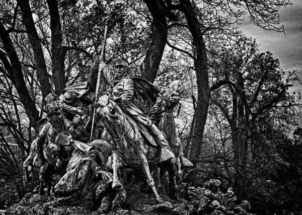 Photograph - Washington Dc Monument Detail No 10 by Val Black Russian Tourchin