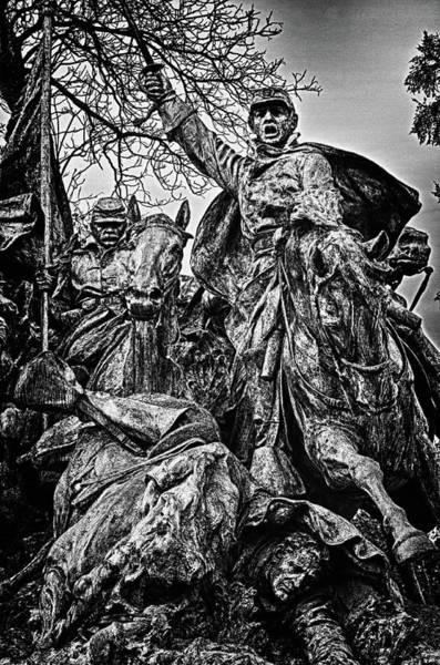 Photograph - Washington Dc Monument Detail No 12 by Val Black Russian Tourchin