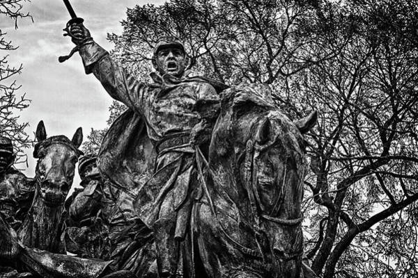 Photograph - Washington Dc Monument Detail No 14 by Val Black Russian Tourchin