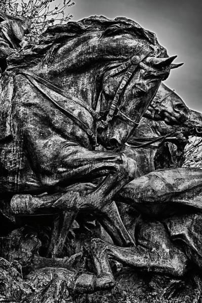 Photograph - Washington Dc Monument Detail No 22 by Val Black Russian Tourchin