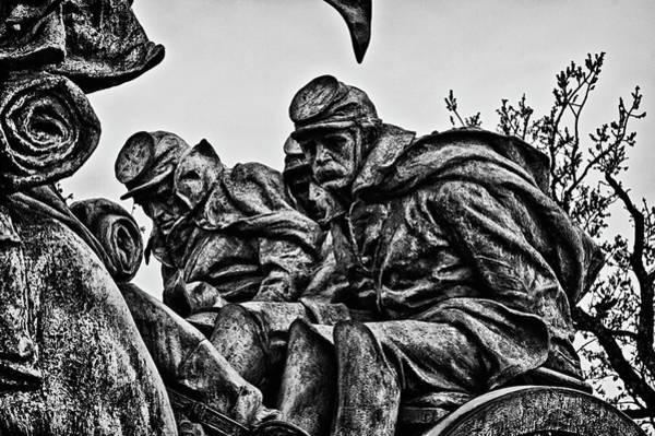 Photograph - Washington Dc Monument Detail No 5 by Val Black Russian Tourchin