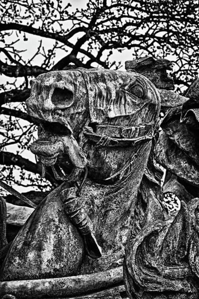Photograph - Washington Dc Monument Detail No 6 by Val Black Russian Tourchin