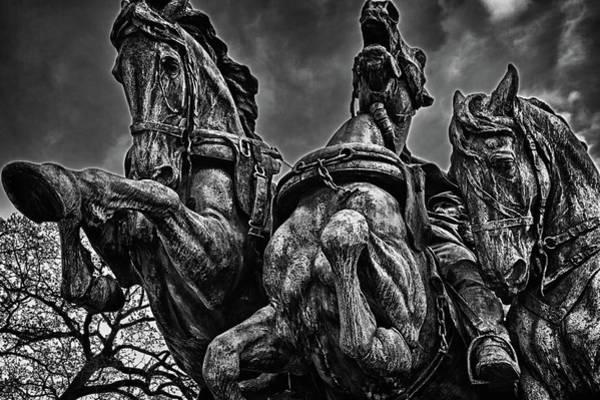 Photograph - Washington Dc Monument Detail No 9 by Val Black Russian Tourchin