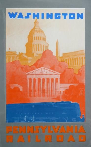 Capitol Drawing - Washington Dc V by David Studwell