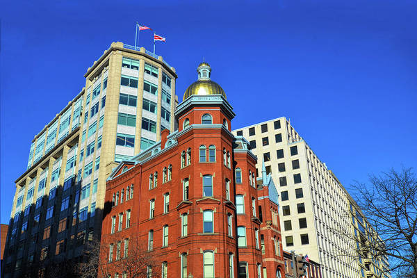 Queen Anne Style Photograph - Fireman's Insurance Co Building  by Isabela and Skender Cocoli