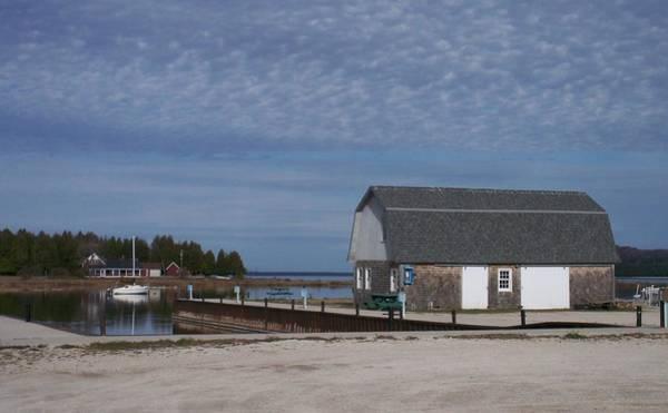 Photograph - Washington Island Harbor 1 by Anita Burgermeister