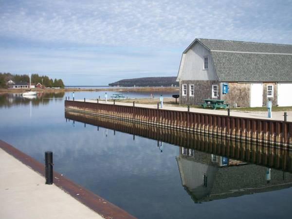 Photograph - Washington Island Harbor 2 by Anita Burgermeister
