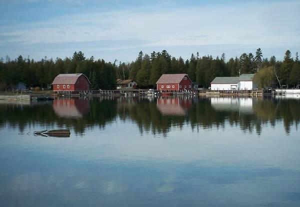 Photograph - Washington Island Harbor 5 by Anita Burgermeister