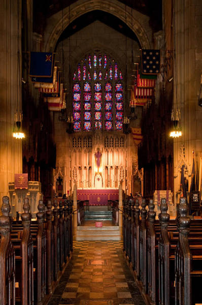Photograph - Washington Memorial Chapel by Louis Dallara