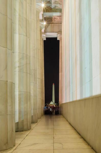 Photograph - Washington Monument 1 by Stewart Helberg