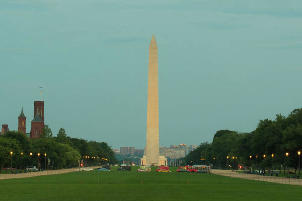 Photograph - Washington Monument Beauty Shot by Marvin Bowser