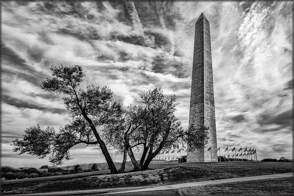 Photograph - Washington Monument by Erika Fawcett