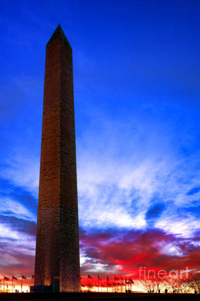 Wall Art - Photograph - Washington Monument Glory by Olivier Le Queinec