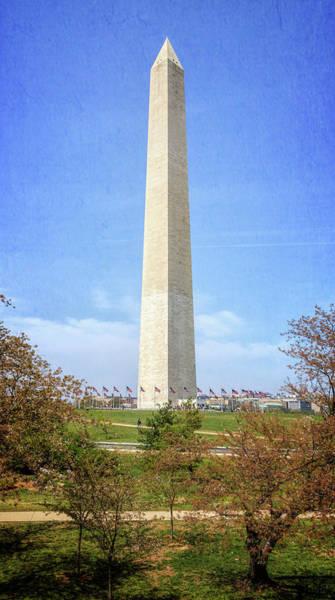 Photograph - Washington Monument II by Joan Carroll