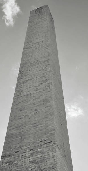 Photograph - Washington Monument Memorial In The United States by Brandon Bourdages
