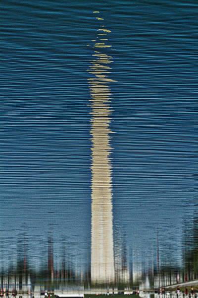 Photograph - Washington Monument Reflection by Stuart Litoff