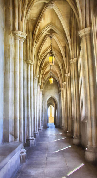 Photograph - Washington National Cathedral by Kim Hojnacki