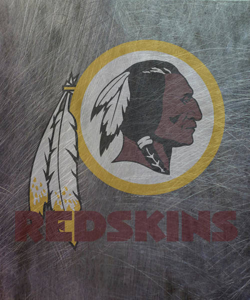 Mixed Media - Washington Redskins Translucent Steel by Movie Poster Prints