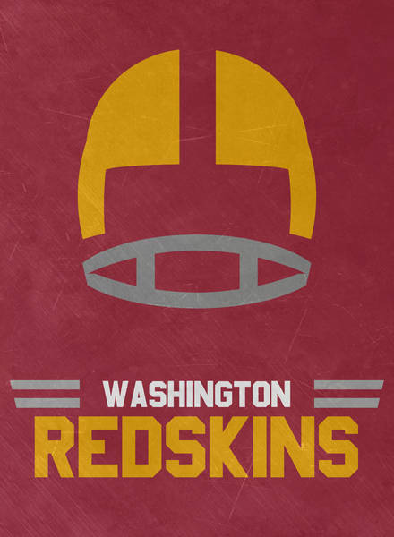 Super Bowl Mixed Media - Washington Redskins Vintage Art by Joe Hamilton