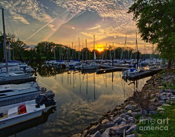 Photograph - Washington Sailing Marina by Rod Best