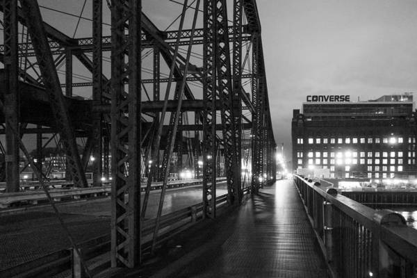 Photograph - Washington Street Bridge by SR Green
