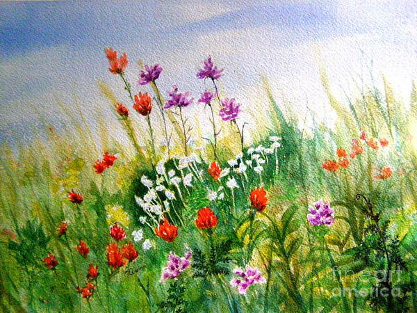 Painting - Washington Wildflowers by Lynn Quinn