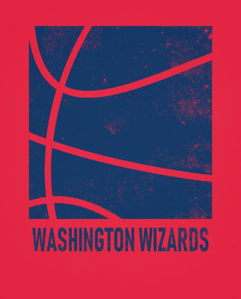 Wall Art - Mixed Media - Washington Wizards City Poster Art 2 by Joe Hamilton