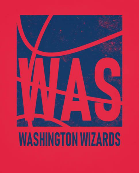 Wall Art - Mixed Media - Washington Wizards City Poster Art by Joe Hamilton