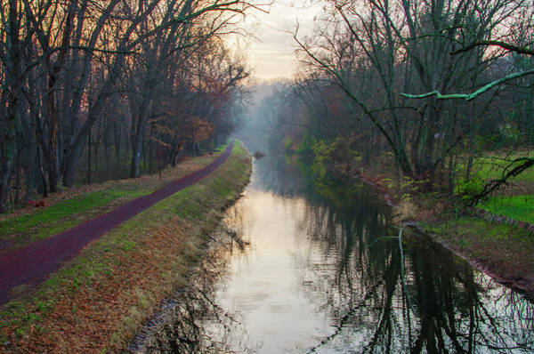 Wall Art - Photograph - Washingtons Crossing - Delaware Canal - Bucks County Pa by Bill Cannon
