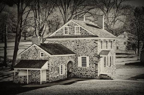 Wall Art - Photograph - Washingtons Headquarters - Valley Forge Pa by Bill Cannon