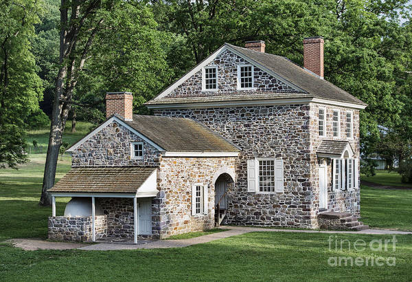 Continental Army Photograph - Washington's Headquarters At Valley Forge by John Greim