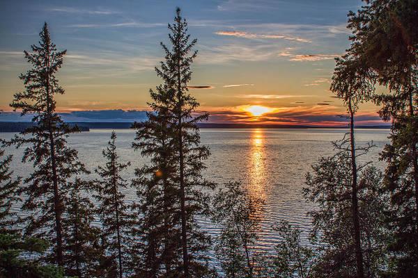 Waskesiu Photograph - Waskesiu Sunset by Brian Kraft
