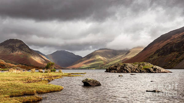 Wast Wall Art - Photograph - Wast Water Overheads by Richard Thomas