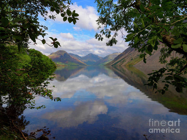 Wast Wall Art - Photograph - Wast Water With Yewbarrow And Great Gable And Lingmell by Louise Heusinkveld