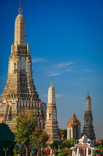Photograph - Wat Arun by Inge Johnsson