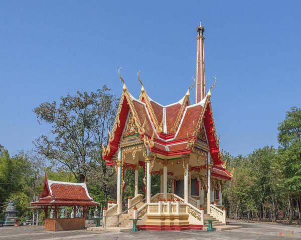 Photograph - Wat Ban Na Meru Or Crematorium Dthst0187 by Gerry Gantt